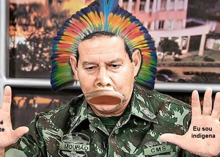 Carta ao General Mourão, o índio do Amazonas