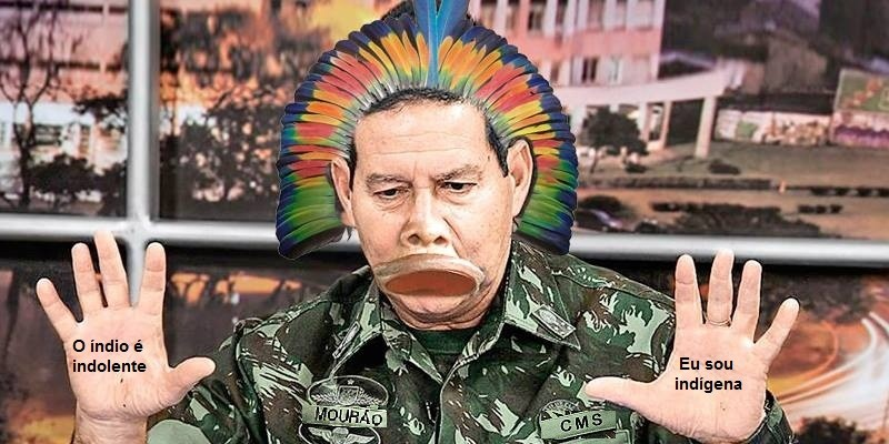 Carta aberta ao General Mourão, o índio do Amazonas