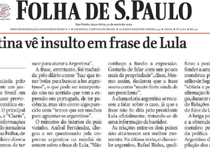 O saco do Lula e o general do Berinho