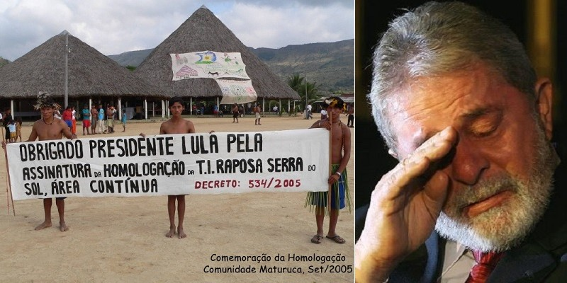 O choro do Lula na Raposa Serra do Sol